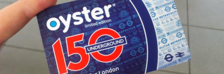 New Oyster card order