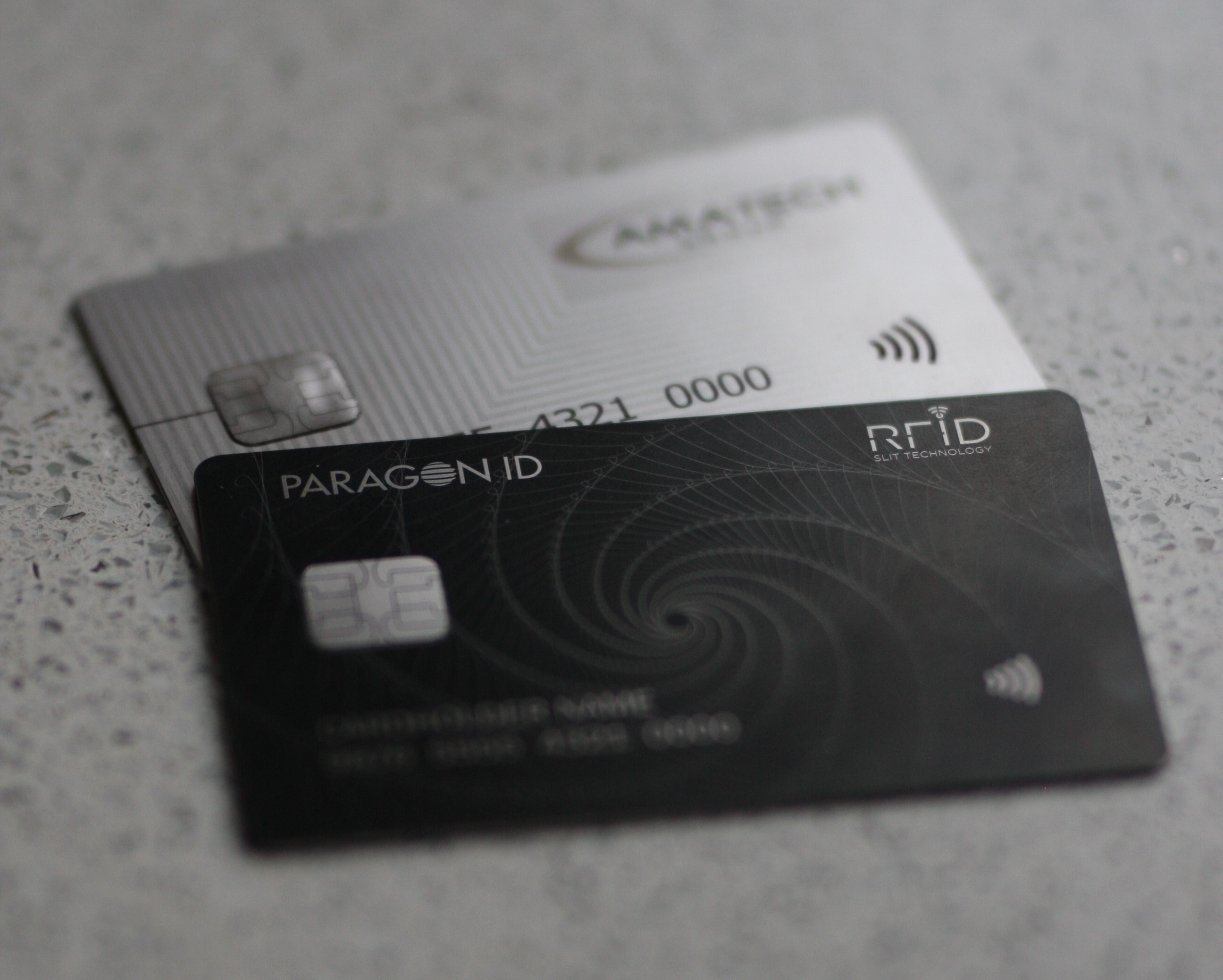 First contactless metal bank cards by Paragon ID