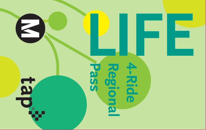 LIFE metro ticket de Paragon ID