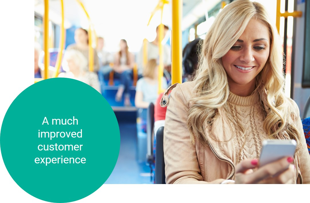 Mobile ticketing for a much improved customer experience