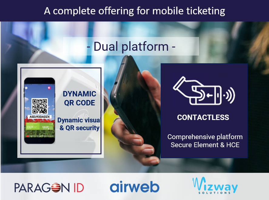 A complete mobile ticketing offering