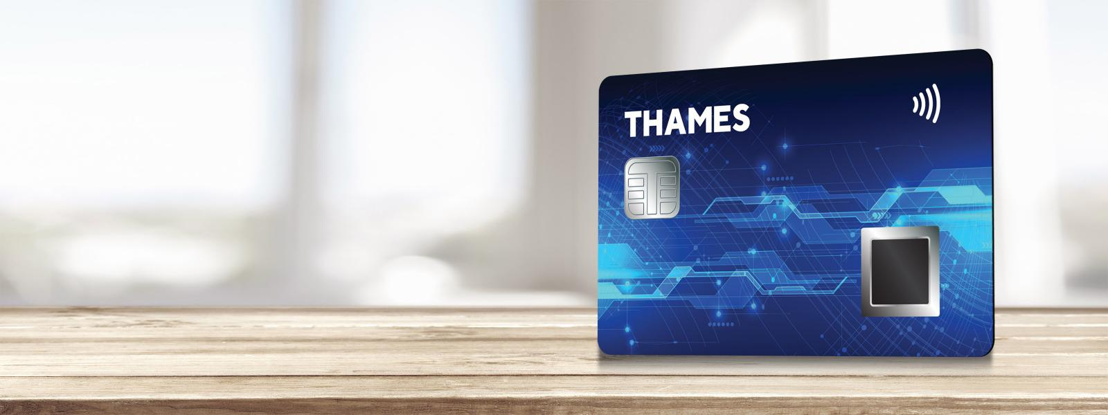 New biometric contactless payment card