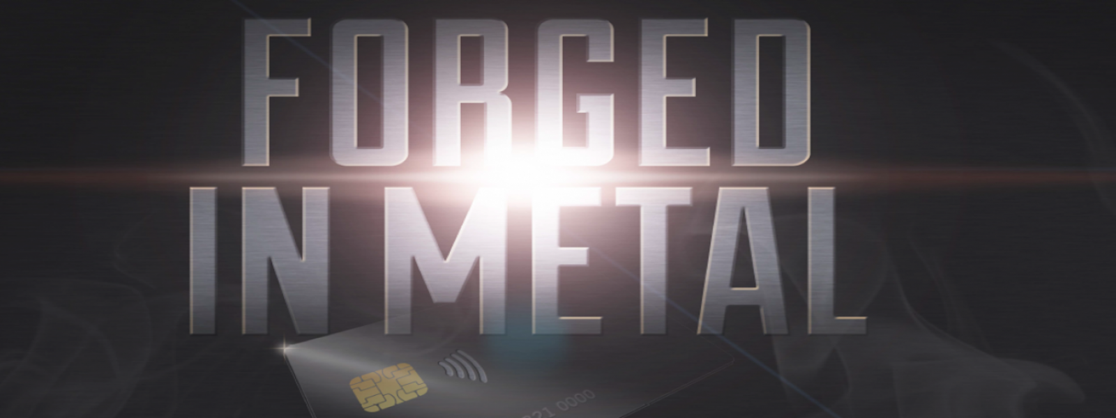 New metal bank card from Paragon ID