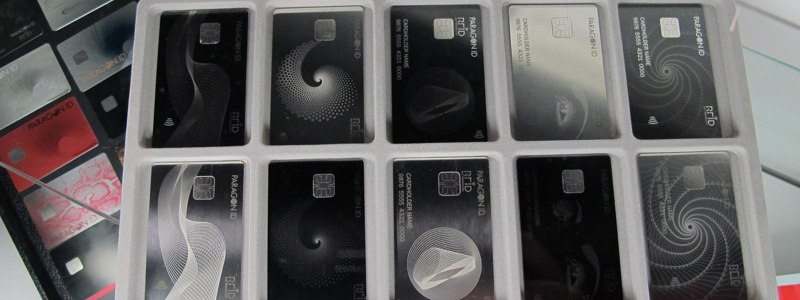 revolutionary metal bank cards