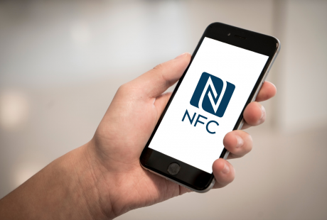 iPhone can read NFC tags