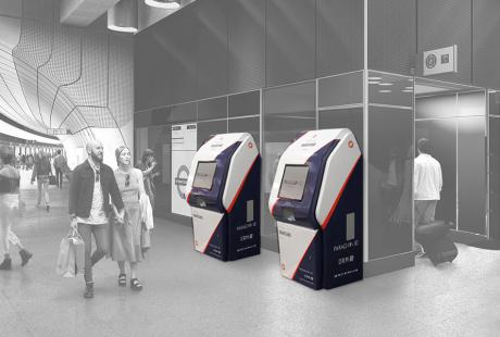 Smart card issuing kiosk Transport Ticketing Global